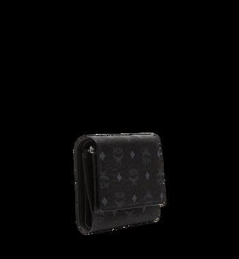 MCM Dreifach gefaltete Brieftasche aus Visetos Original MYS8SVI83BK001 AlternateView2