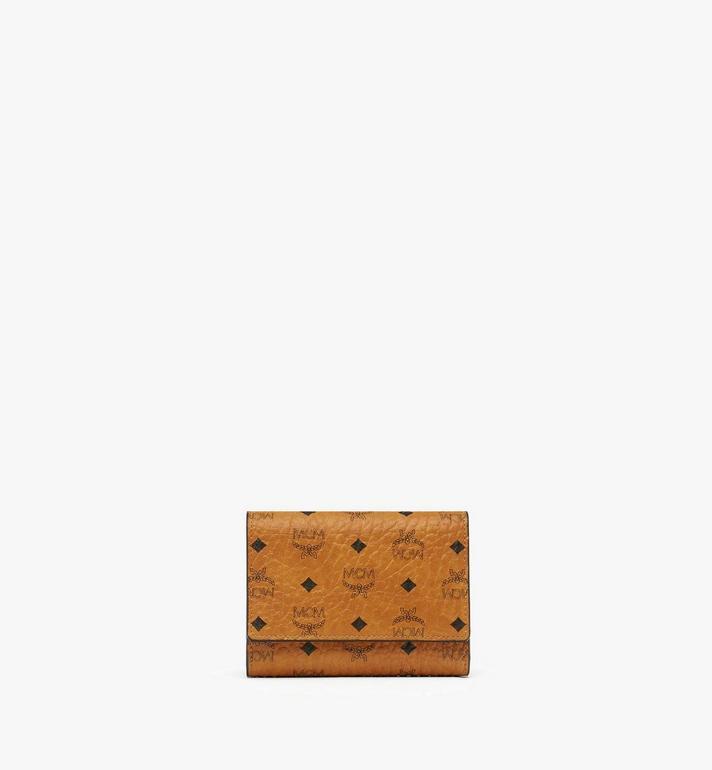 MCM Three Fold Wallet in Visetos Original MYS8SVI83CO001 AlternateView