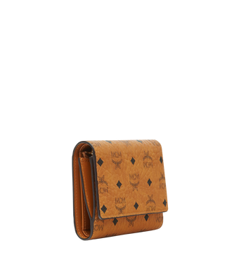 MCM Three Fold Wallet in Visetos Original MYS8SVI83CO001 AlternateView2