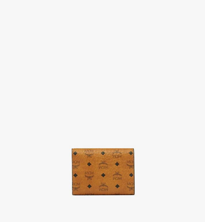 MCM Three Fold Wallet in Visetos Original MYS8SVI83CO001 AlternateView3