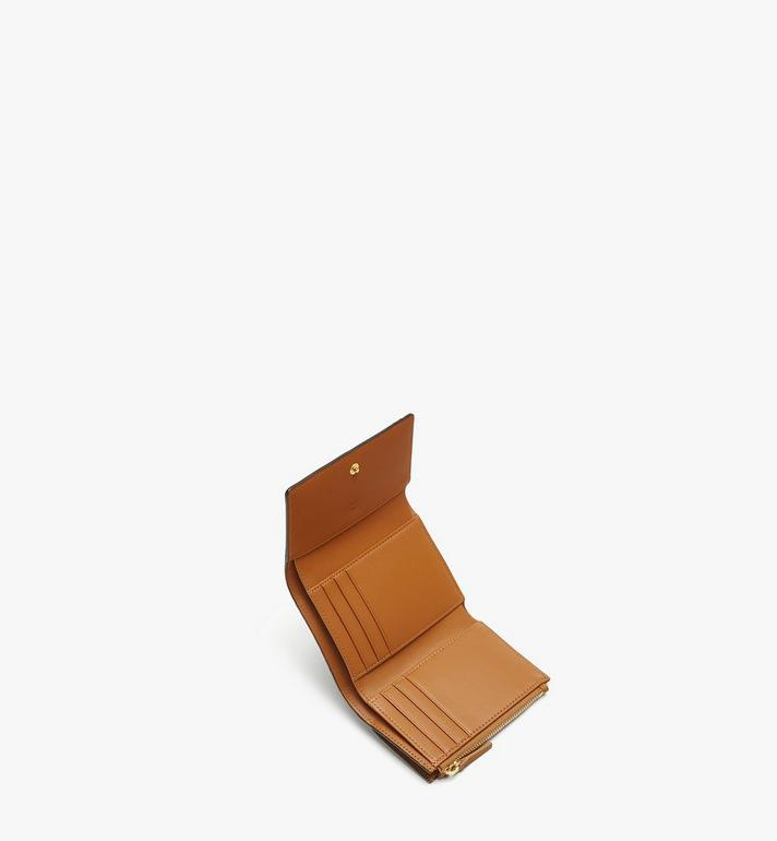 MCM Three Fold Wallet in Visetos Original MYS8SVI83CO001 AlternateView4