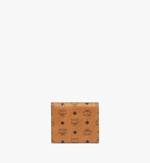 Brieftasche mit Rundum-Reissverschluss in Visetos Original