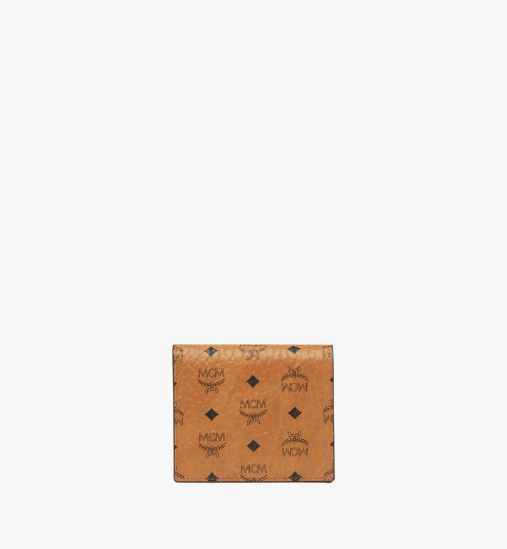 MCM Two Fold Wallet in Visetos Original MYS8SVI94CO001 AlternateView1