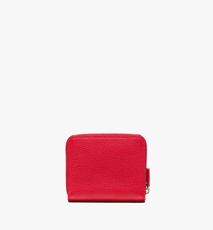 MCM Chanswell Zip Wallet in Park Avenue Leather Alternate View 2