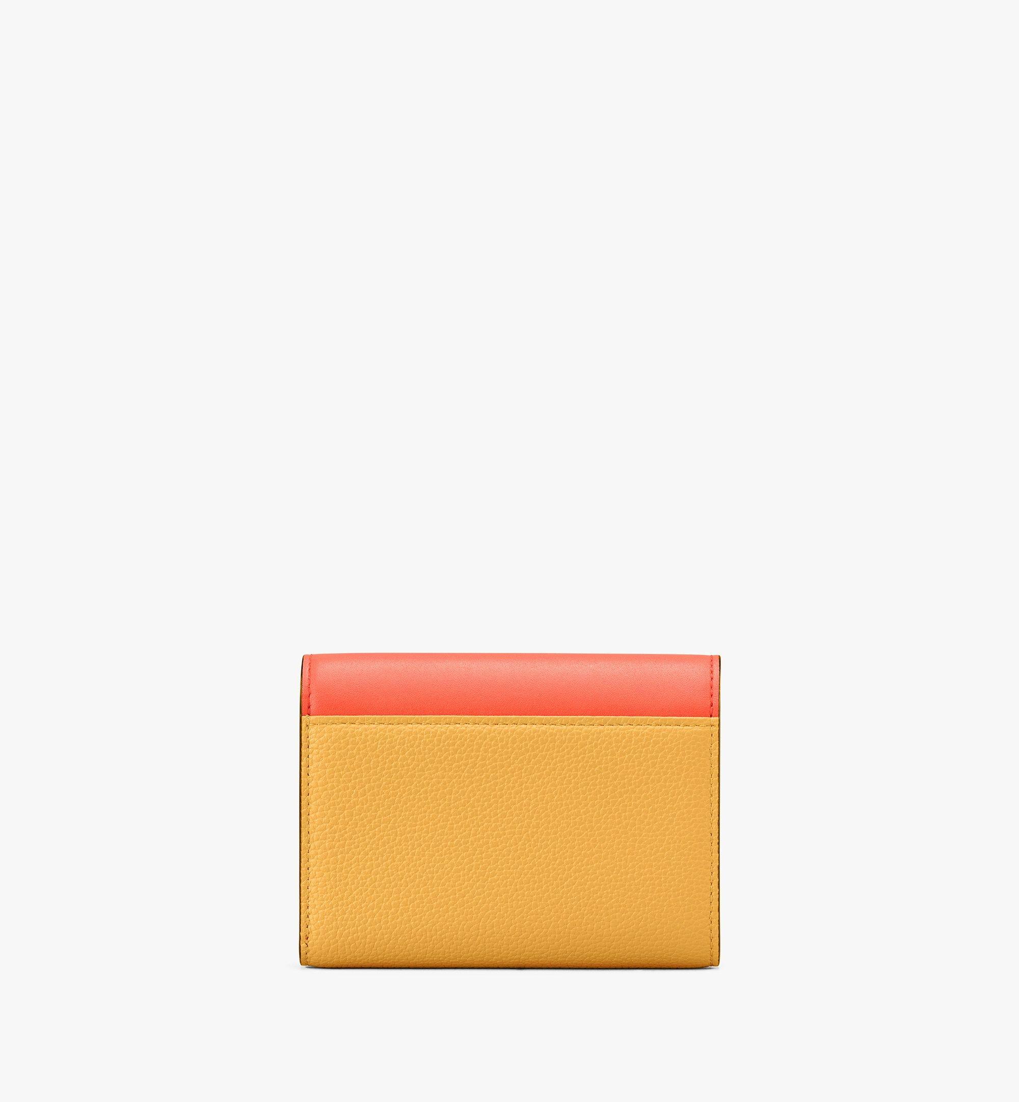 MCM Milano Three-Fold Wallet Yellow MYS9ADA03YJ001 Alternate View 2