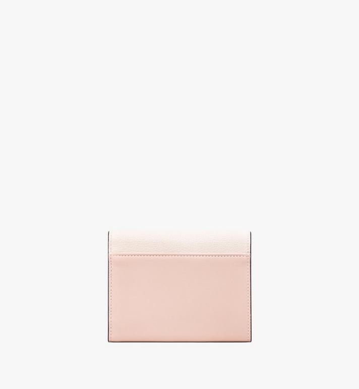 MCM Love Letter Three-Fold Wallet in Colorblock Visetos Alternate View 2