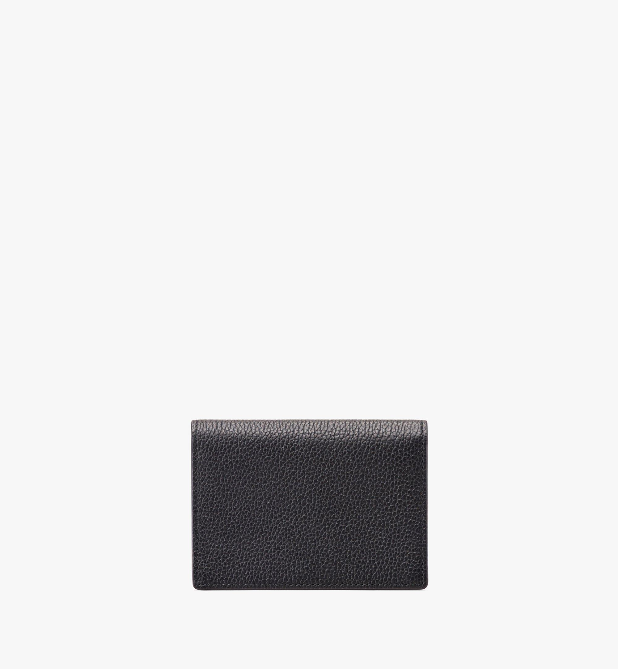 MCM Love Letter Wallet in Colorblock Visetos Black MYS9ALV03CB001 Alternate View 1