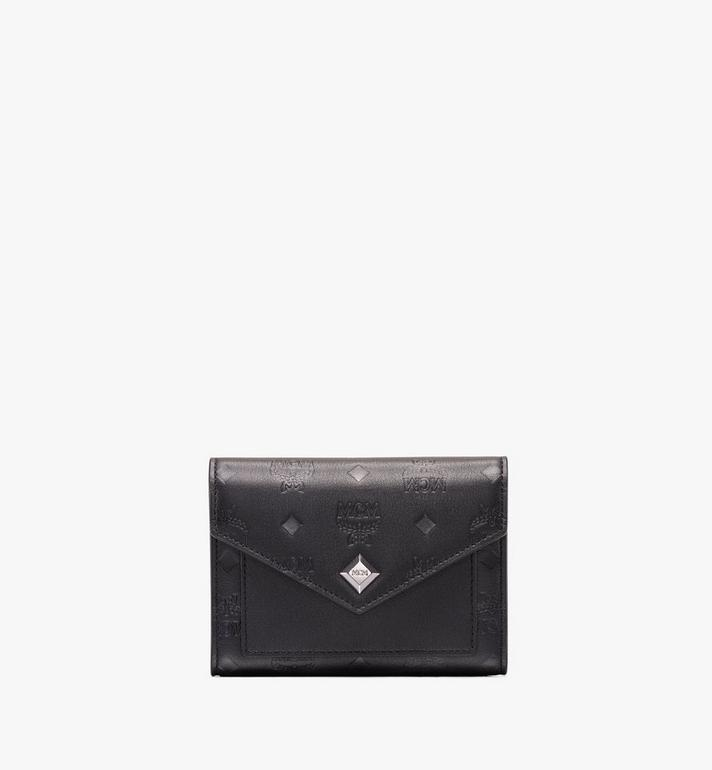 MCM Love Letter Three-Fold Wallet in Monogram Leather Alternate View