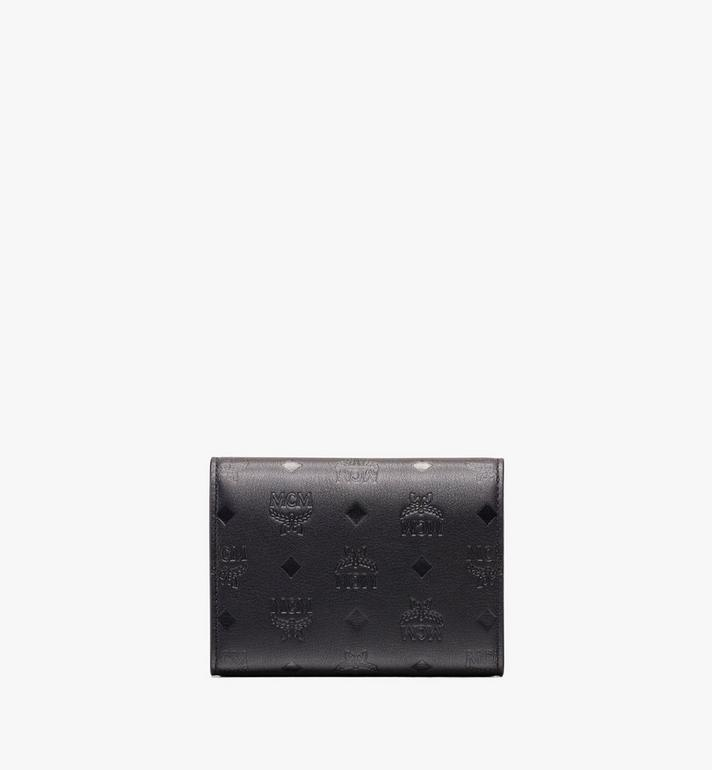 MCM Love Letter Three-Fold Wallet in Monogram Leather Alternate View 2