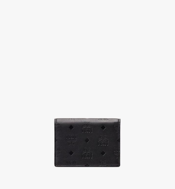 MCM Love Letter Wallet in Monogram Leather Alternate View 2