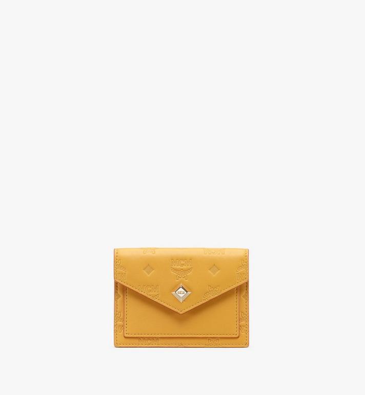 MCM Love Letter Lederbrieftasche mit Monogramm Alternate View