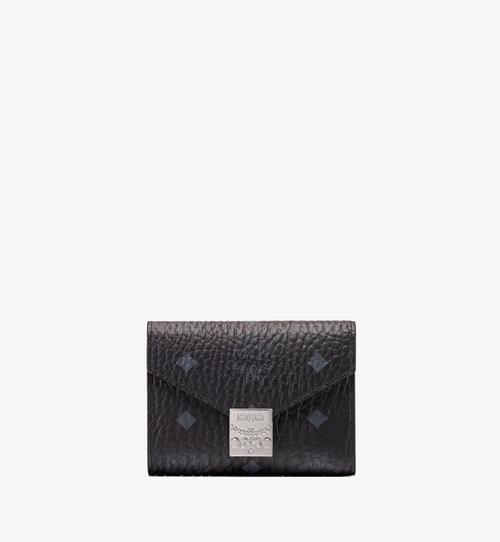 Patricia Three-Fold Wallet in Visetos