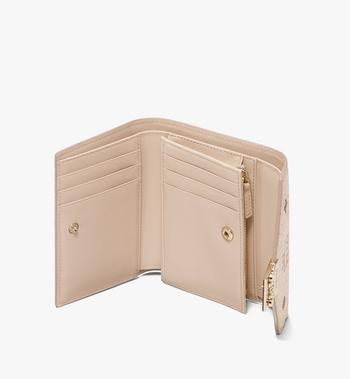 MCM Patricia dreifach gefaltete Brieftasche in Visetos Alternate View 3