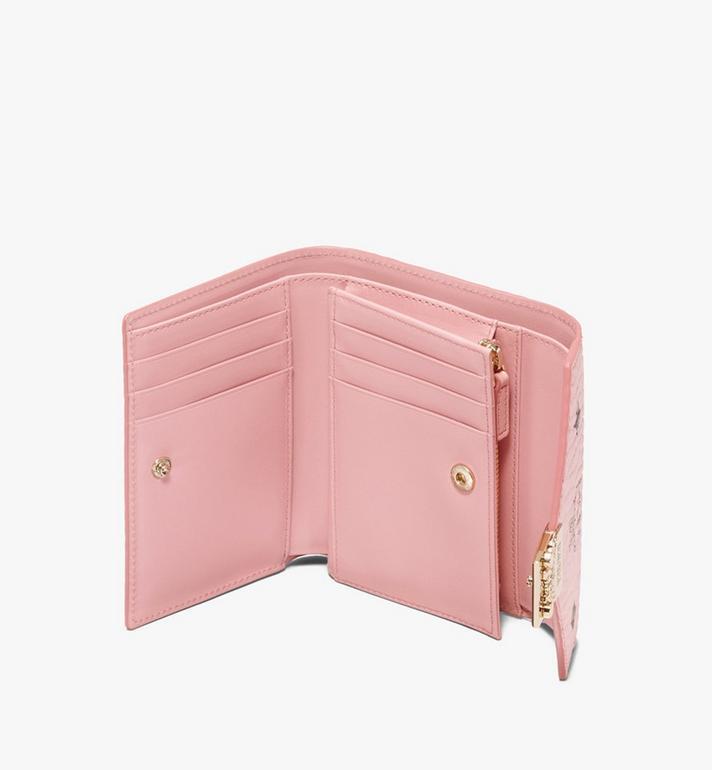 MCM Patricia Three-Fold Wallet in Visetos Alternate View 3