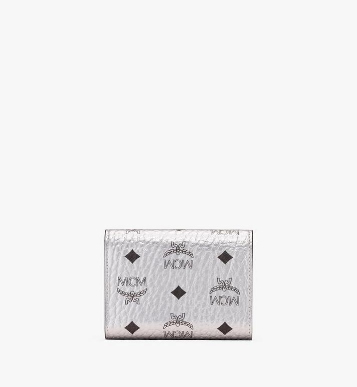 MCM Patricia Three-Fold Wallet in Visetos Alternate View 2