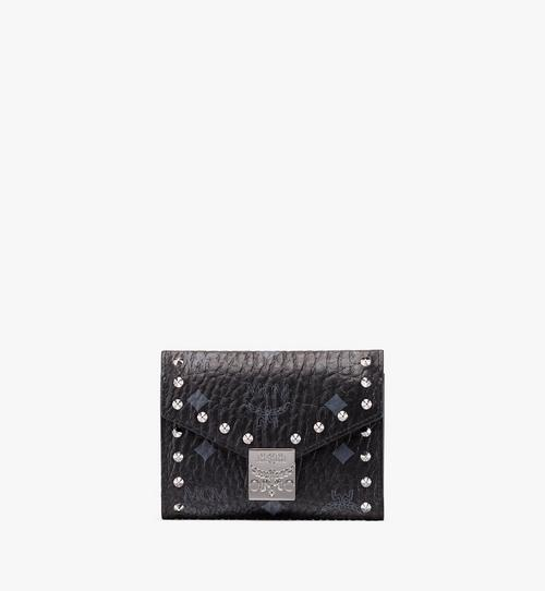 Patricia Three-Fold Wallet in Studded Visetos