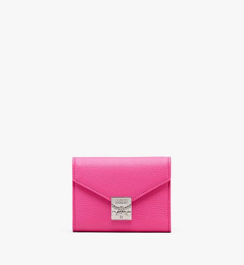 Patricia Three-Fold Wallet in Park Avenue Leather