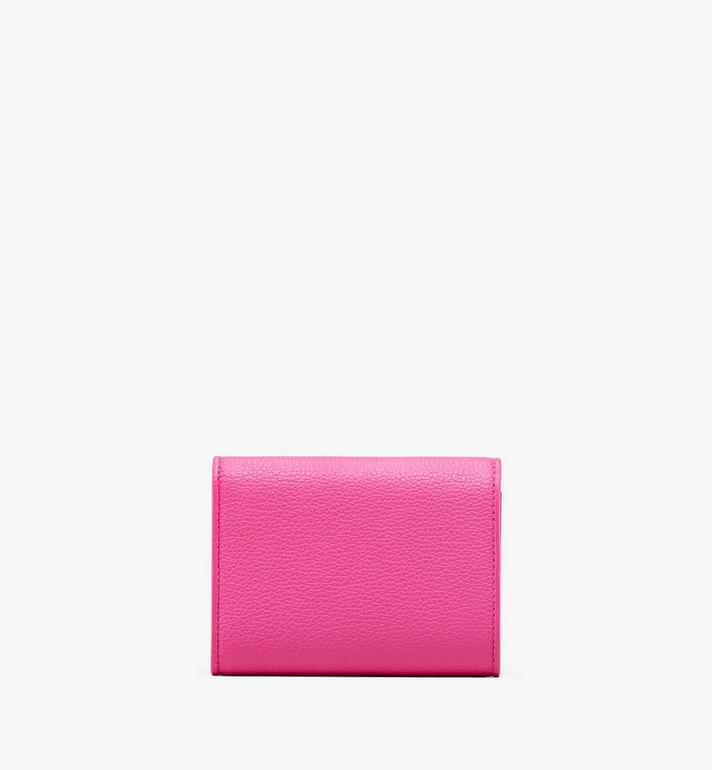 MCM Patricia Three-Fold Wallet in Park Avenue Leather  MYS9APA43QS001 Alternate View 2