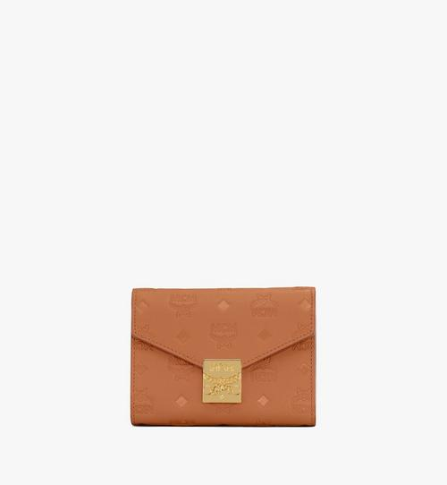 Patricia Trifold Wallet in Monogram Leather