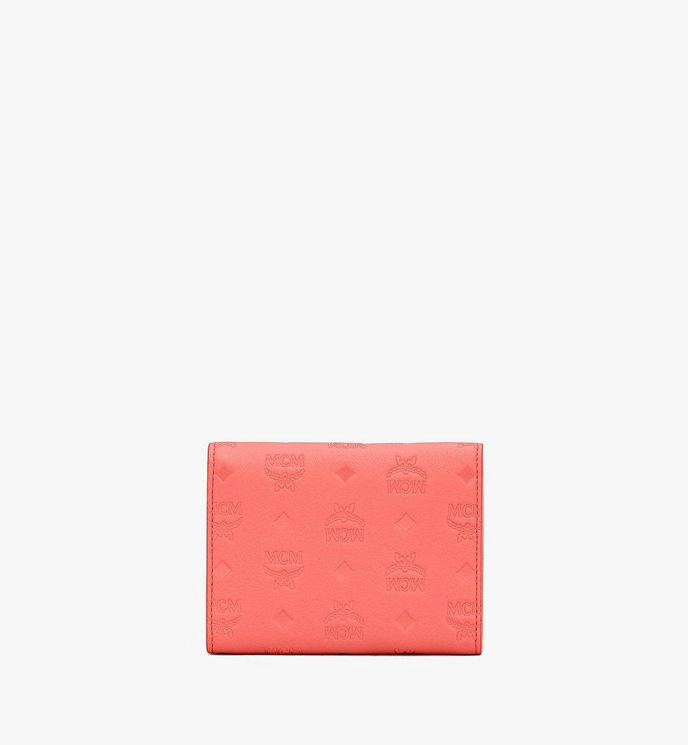 MCM Patricia花押字圖案皮革三折皮包 Orange MYS9APA54O3001 更多視圖 1