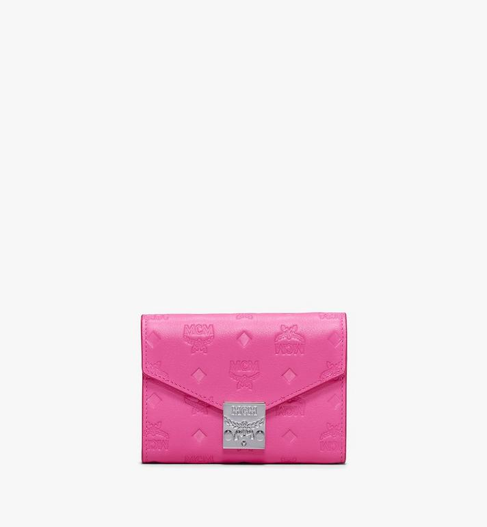 MCM Patricia Three-Fold Wallet in Monogram Leather Alternate View