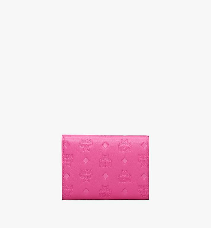 MCM Patricia Three-Fold Wallet in Monogram Leather Alternate View 2