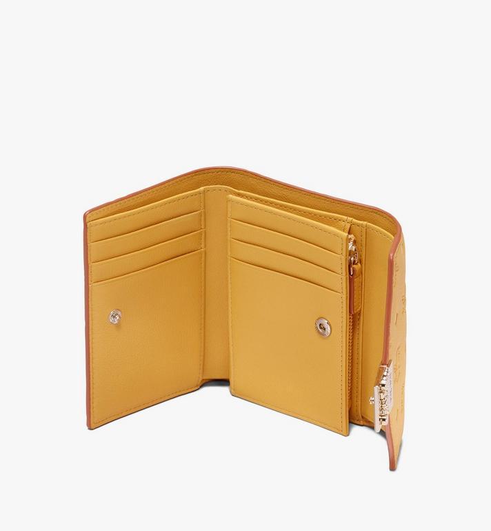 MCM Patricia Three-Fold Wallet in Monogram Leather  MYS9APA54YJ001 Alternate View 3