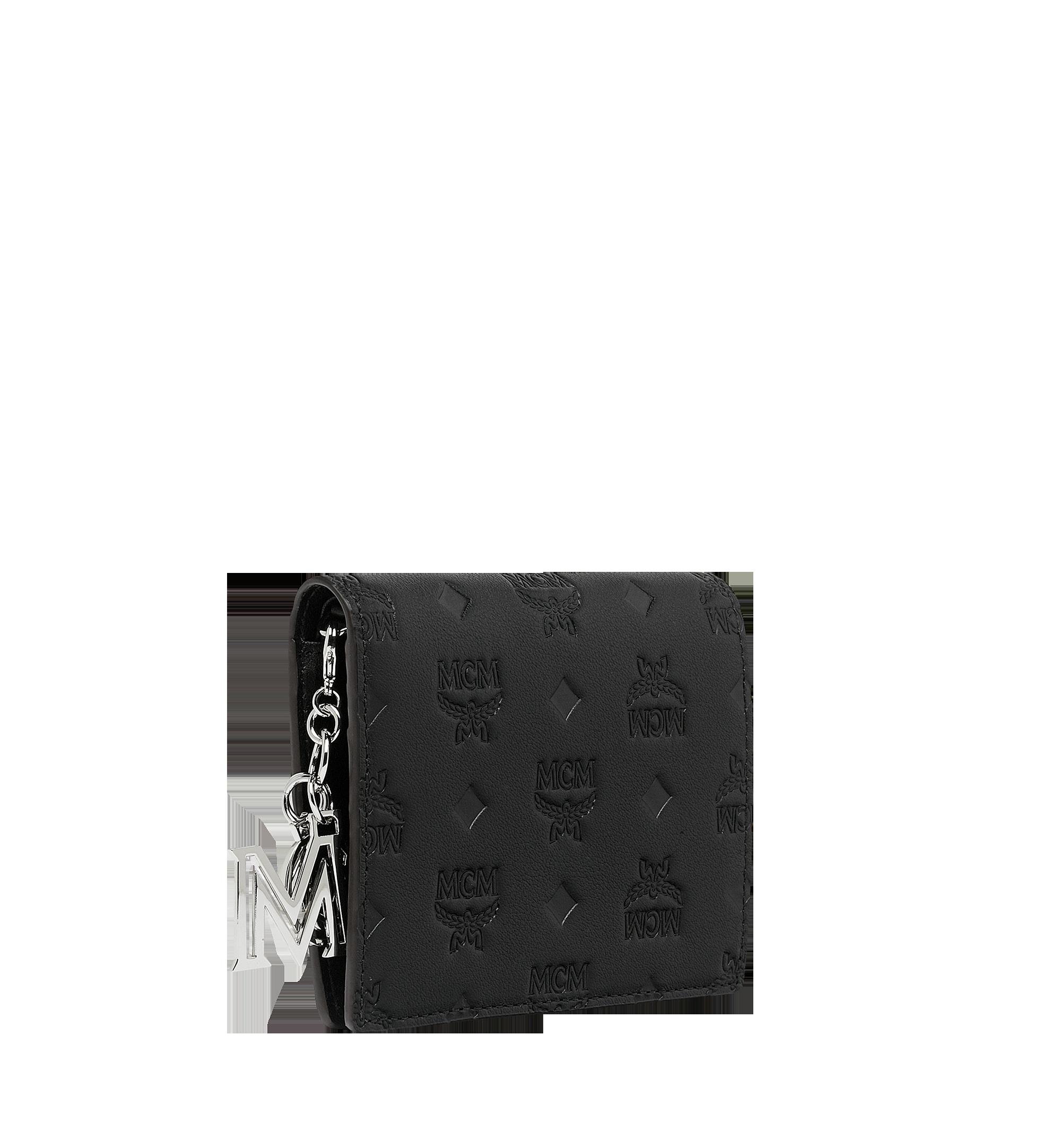 MCM Klara经典花纹皮革对折式钱包 Black MYS9SKM40BK001 更多视角 1