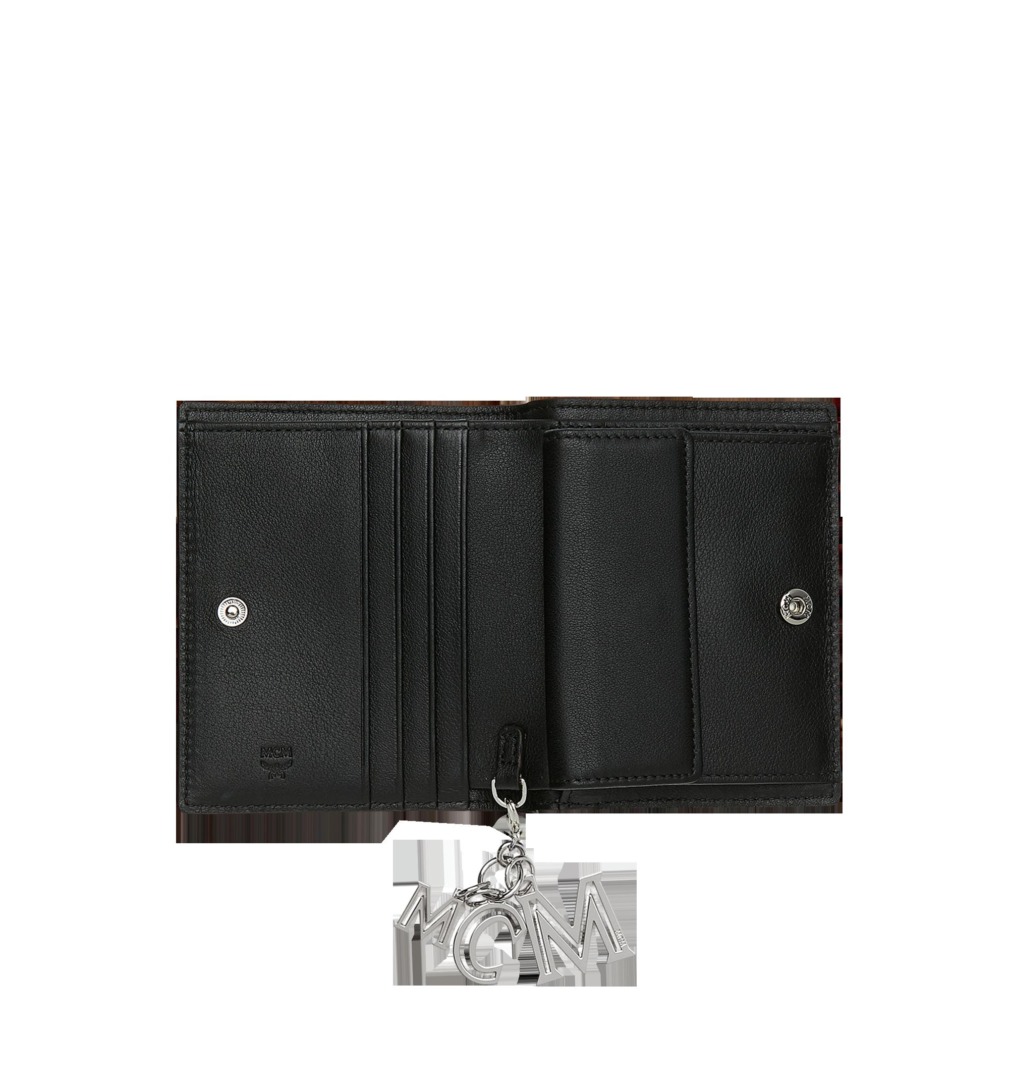 MCM Klara经典花纹皮革对折式钱包 Black MYS9SKM40BK001 更多视角 3