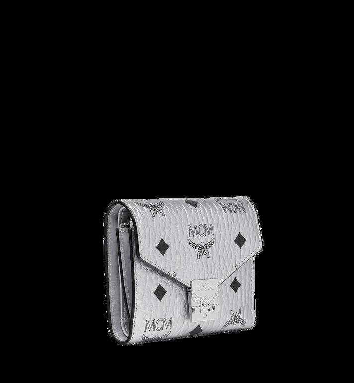 MCM Patricia Three Fold Wallet in Visetos Alternate View 2