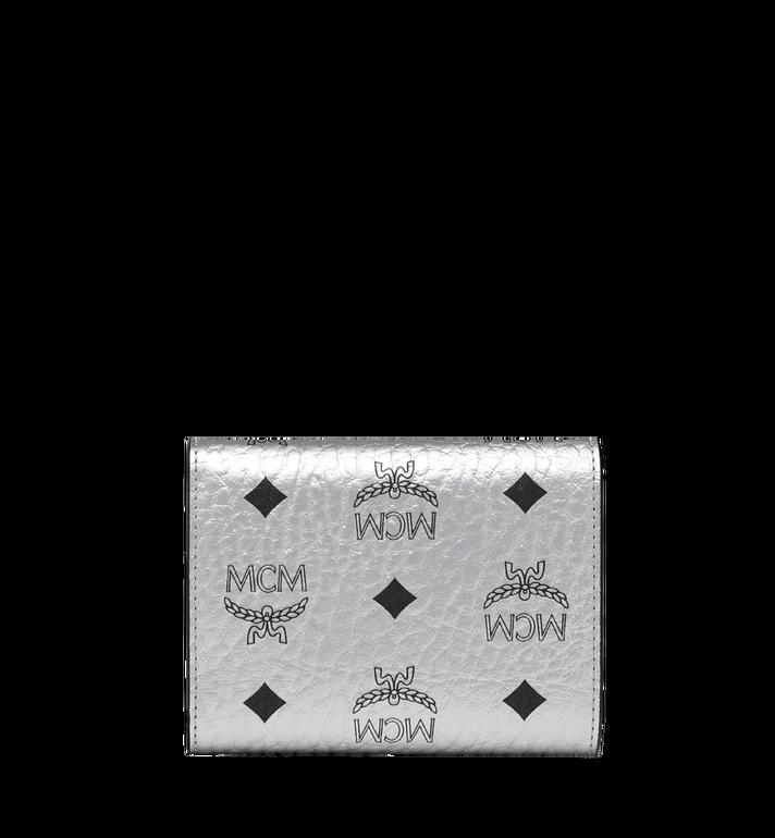 MCM Patricia Three Fold Wallet in Visetos Alternate View 3