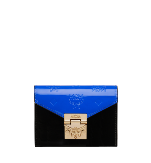 Patricia Three-Fold Wallet in Monogram Patent Leather