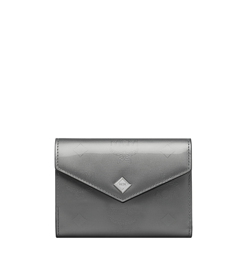 Three-Fold Wallet in Monogram Patent Leather