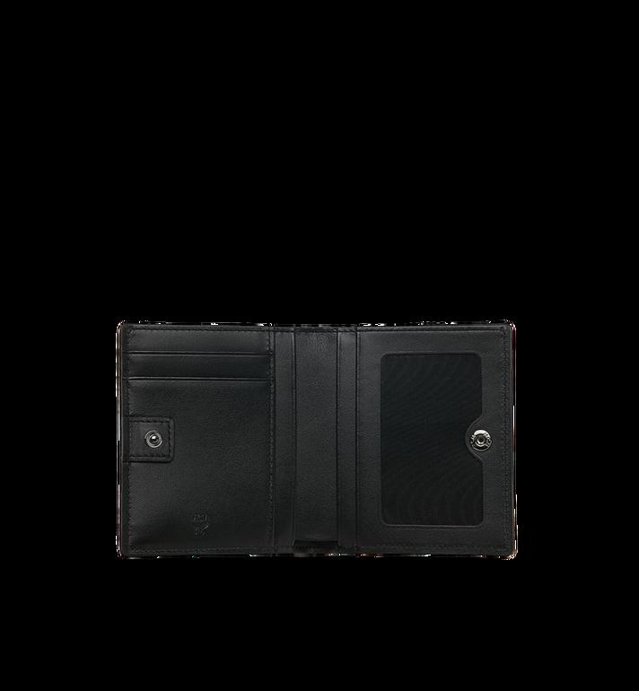 MCM Two Fold Flat Wallet in Skyoptic Visetos MYS9SSV65BA001 AlternateView4