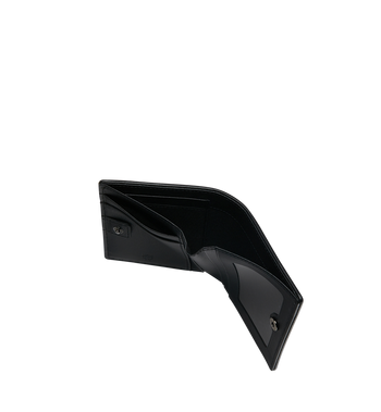 MCM Two Fold Flat Wallet in Skyoptic Visetos MYS9SSV65BA001 AlternateView5