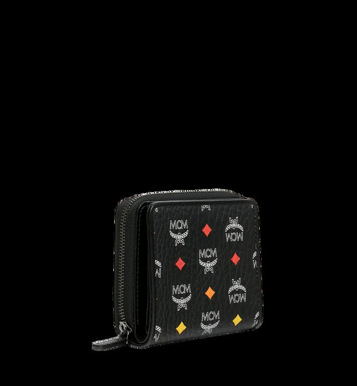 MCM Zip Around Wallet in Skyoptic Visetos Black MYS9SSV66BA001 Alternate View 2