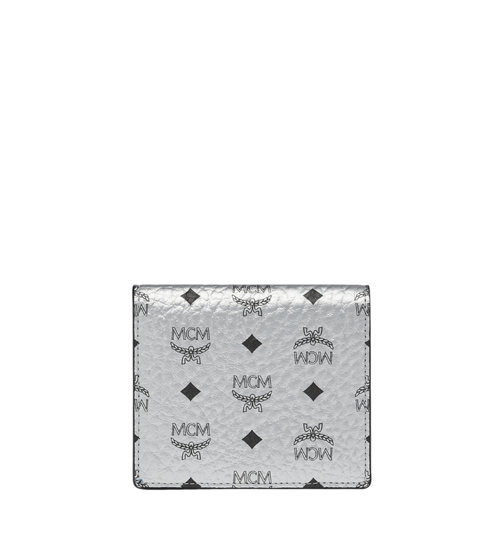 MCM Two Fold Flat Wallet in Visetos Original MYS9SVI94SB001 AlternateView