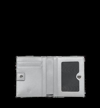 MCM Two Fold Flat Wallet in Visetos Original MYS9SVI94SB001 AlternateView4