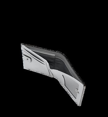 MCM Two Fold Flat Wallet in Visetos Original MYS9SVI94SB001 AlternateView5