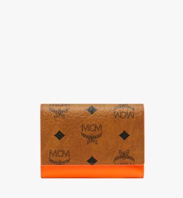 10c8fb6e8f Geonautic Three-Fold Wallet in Visetos