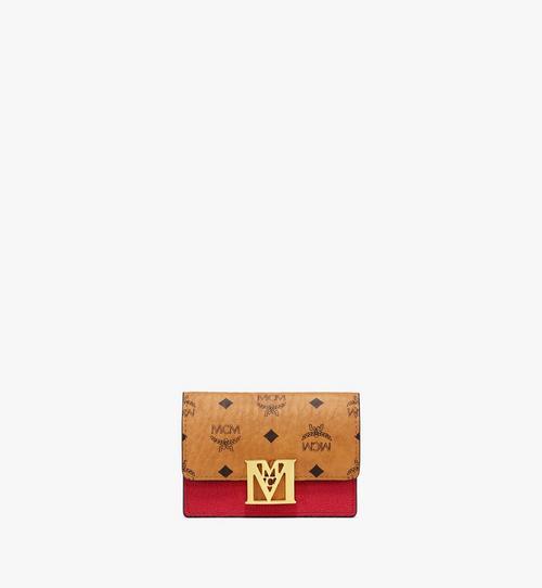 〈メーナ〉アコーディオン カードホルダー - ヴィセトス レザー ブロック