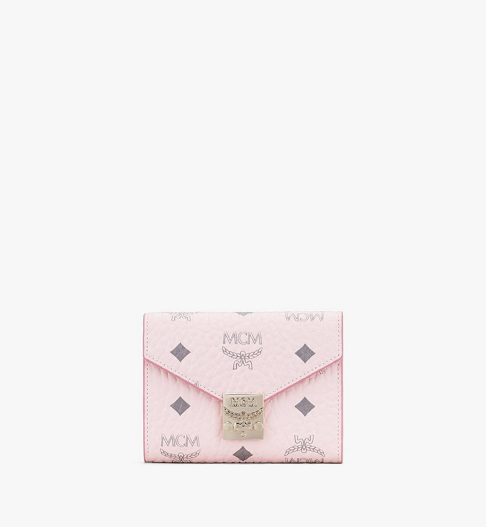 MCM 〈パトリシア〉三つ折りウォレット - ヴィセトス Pink MYSAAPA02QH001 ほかの角度から見る 1