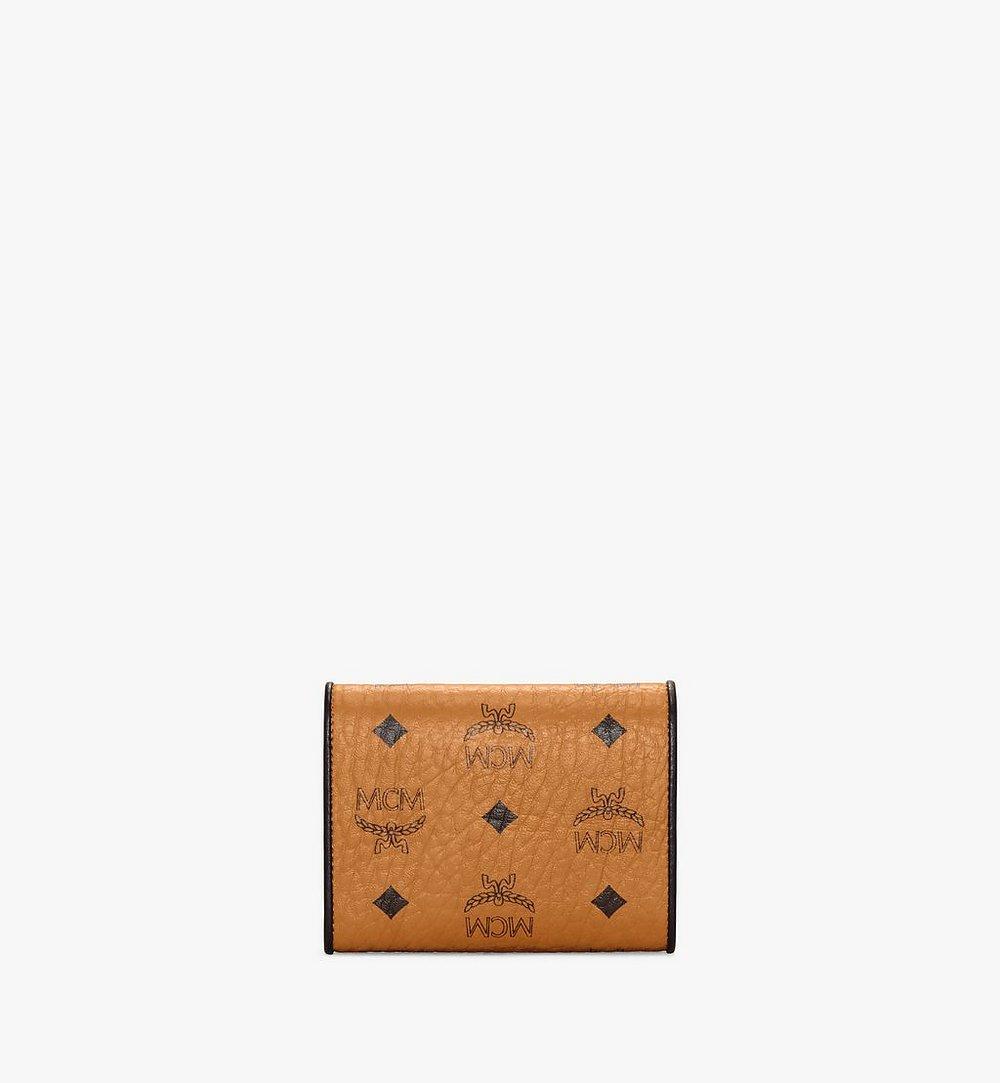 MCM 패트리샤 비세토스 레더블록 3단 지갑 Cognac MYSAAPA05CO001 다른 각도 보기 2