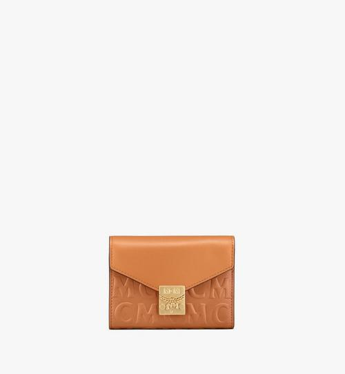 Patricia Trifold Wallet in MCM Monogram Leather