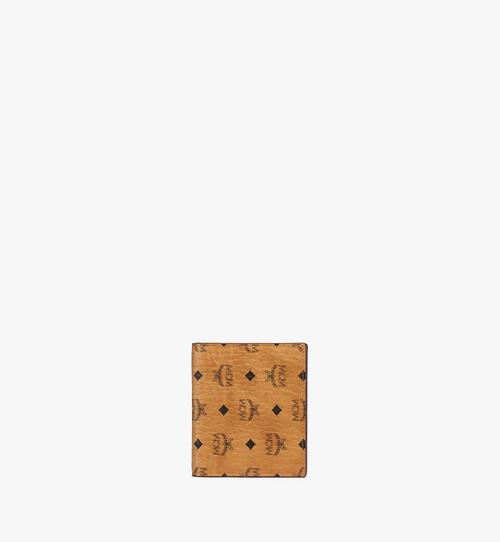 Flache Brieftasche in Visetos Original