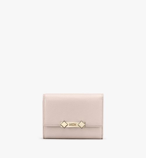 Milano Three-Fold Wallet in Goatskin Leather