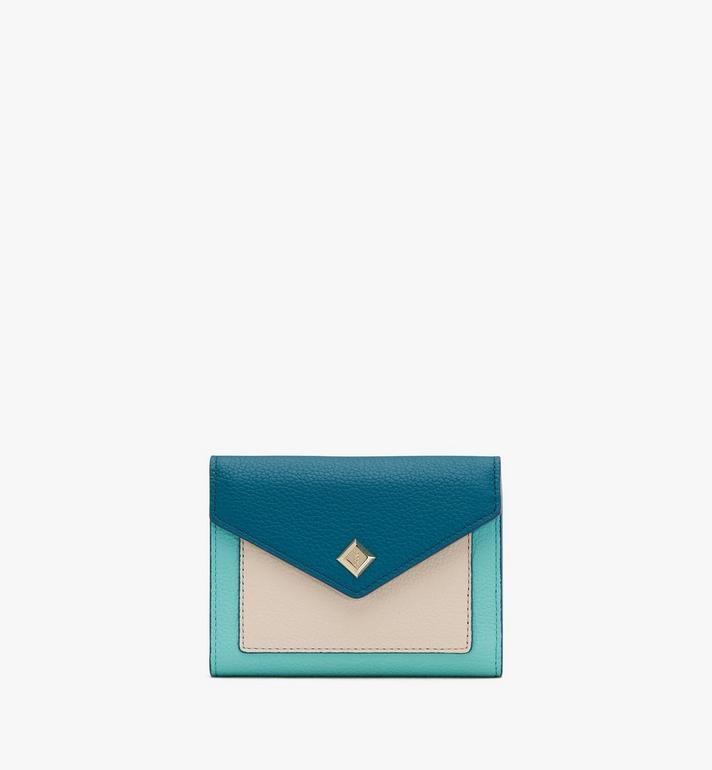 MCM Love Letter Brieftasche aus Leder in Park Avenue Alternate View