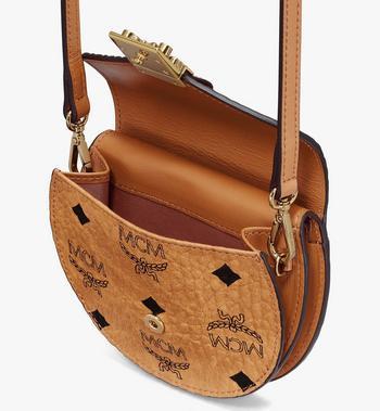 MCM Patricia Round Crossbody Wallet in Visetos Cognac MYSASPA01CO001 Alternate View 4