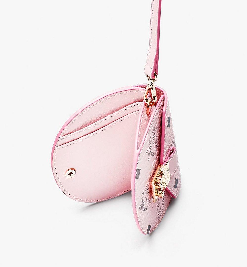 MCM 〈パトリシア〉ヴィセトス ラウンドウォレット Pink MYSASPA01QH001 ほかの角度から見る 2