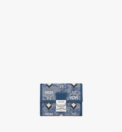 三つ折り ウォレット - ヴィンテージ モノグラム ジャカード